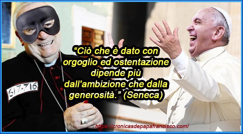 """Bergoglio a Scalfari: mi sento vicario di un Cristo """"di cui poco ne sappiamo"""", ma per Bassetti DOBBIAMO TACERE!"""