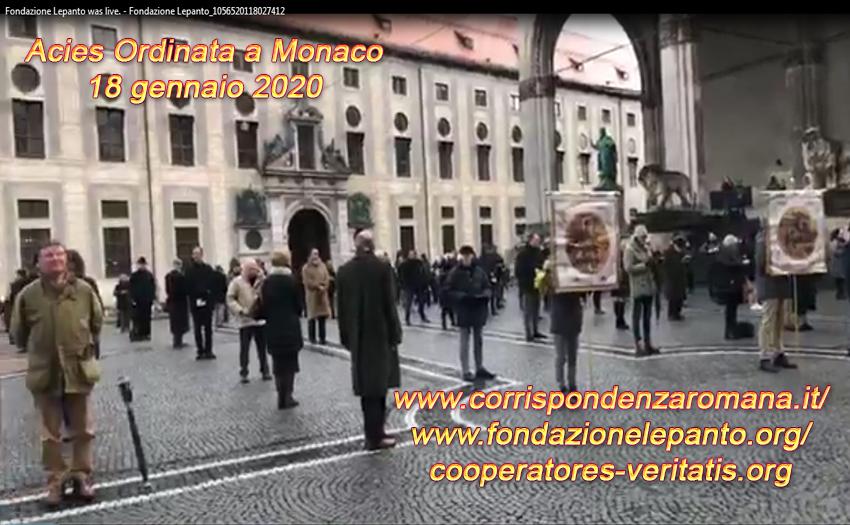 Reti unificate: Acies Ordinata a Monaco – 18 gennaio 2020