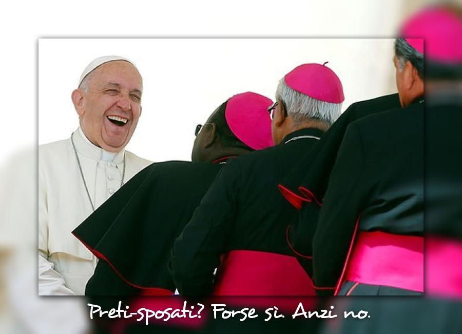 Preti-sposati? Papa Francesco ha detto che…