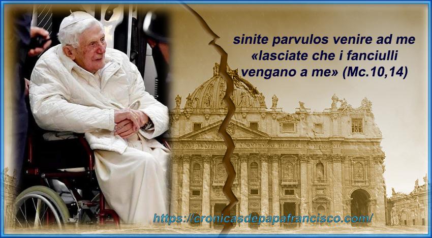 Benedetto XVI lascia il Vaticano… e allora?
