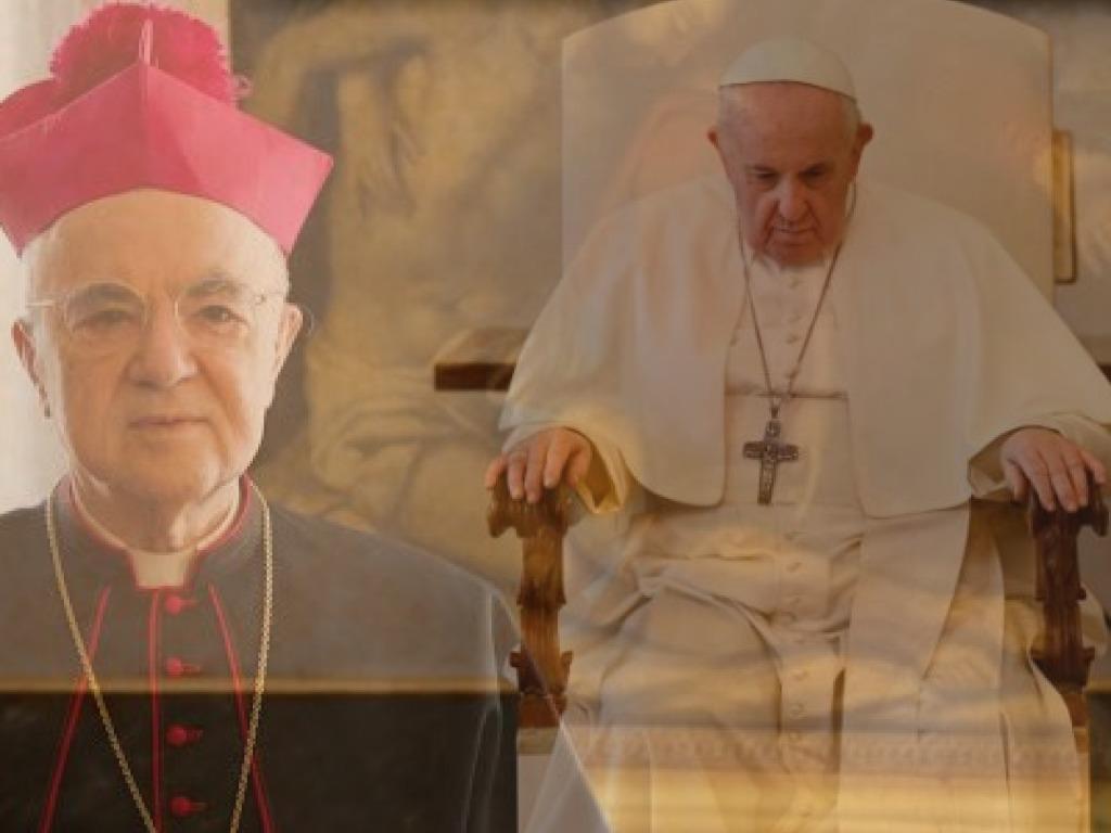 Chi è il Papa? Mons. Viganò: Questa polemica fa solo altro danno