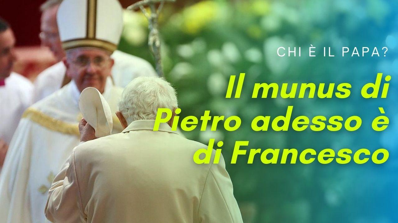 Che è il Papa? Il munus di Pietro adesso è di Francesco