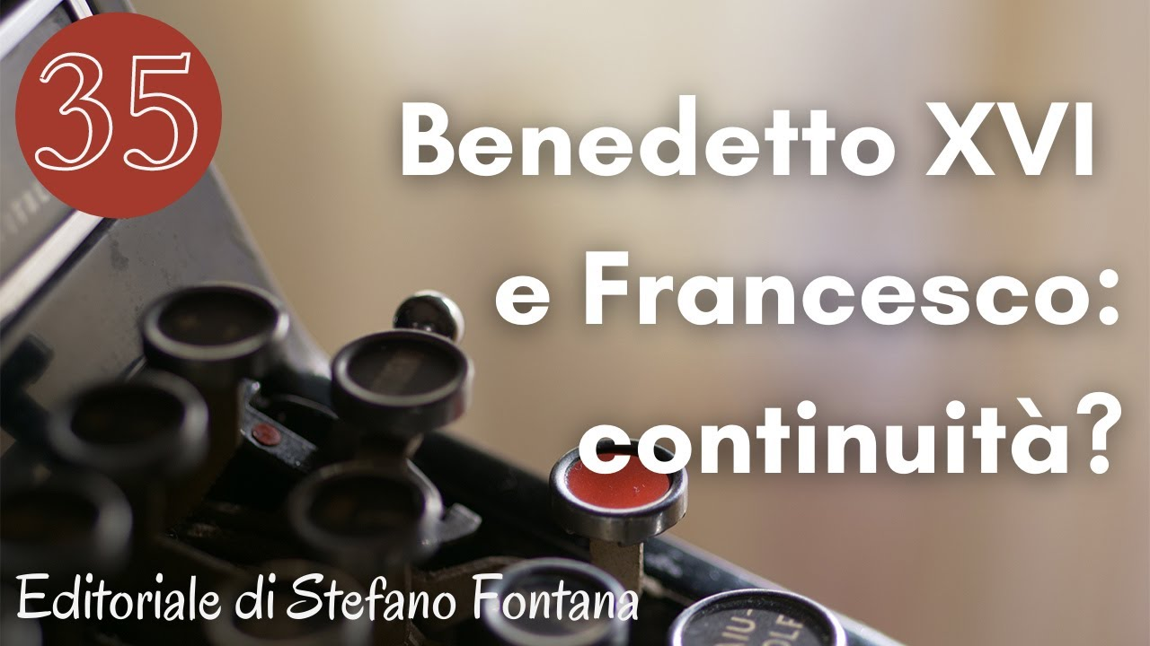 Video. Benedetto XVI e Francesco: continuità?